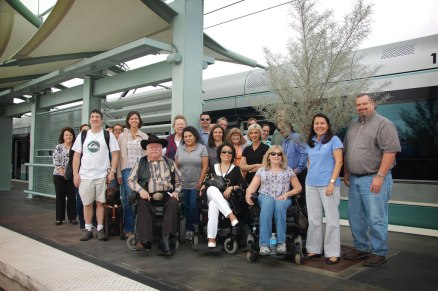 ADA training tour group